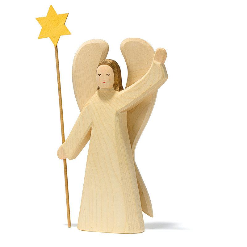 Ostheimer Angel Wooden with Star Large 2 piece - Ostheimer - The Creative Toy Shop