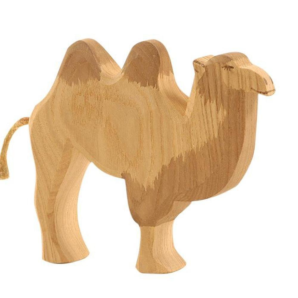 Ostheimer Camels - Camel without Saddle-Wooden animals-The Creative Toy Shop