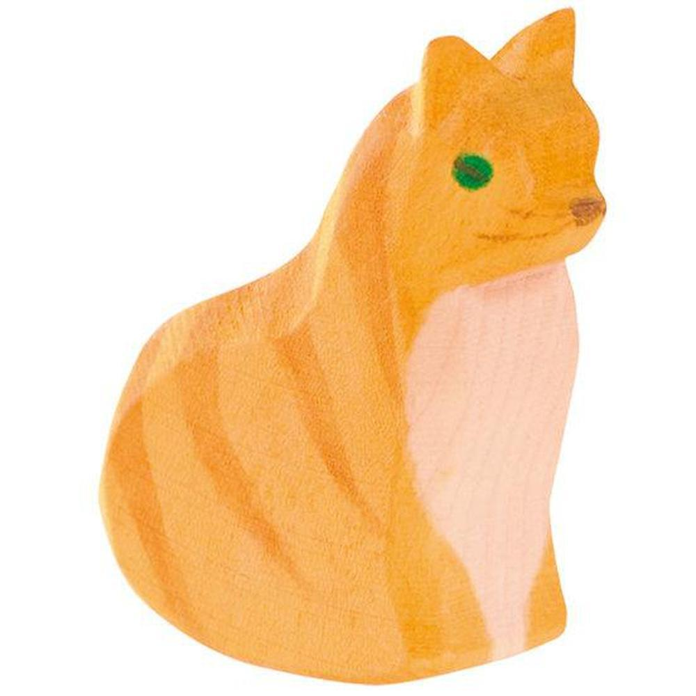 Ostheimer Cats - Cat Sitting-Wooden animals-The Creative Toy Shop
