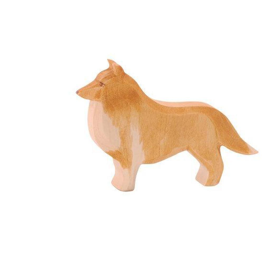 Ostheimer Dog - Collie-Wooden animals-The Creative Toy Shop