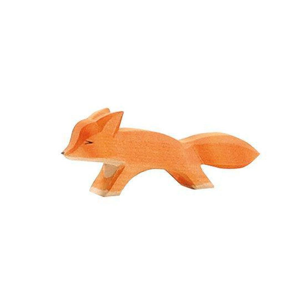 Ostheimer Foxes - Small Fox Running-Wooden animals-The Creative Toy Shop