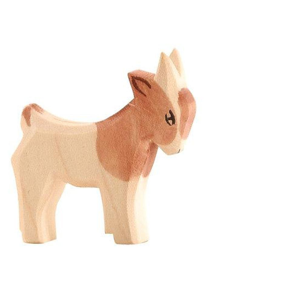 Ostheimer Goat Small Standing-Wooden animals-The Creative Toy Shop