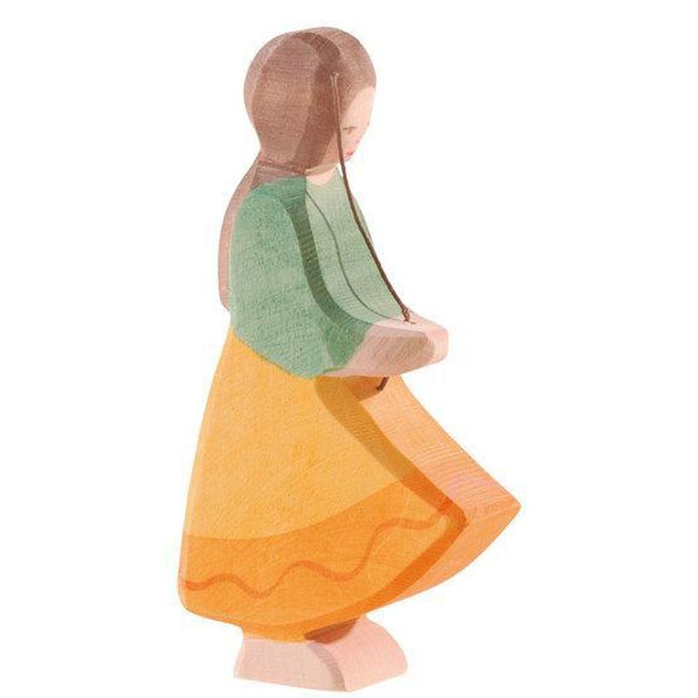 Ostheimer Goose Girl-Wooden dolls-The Creative Toy Shop