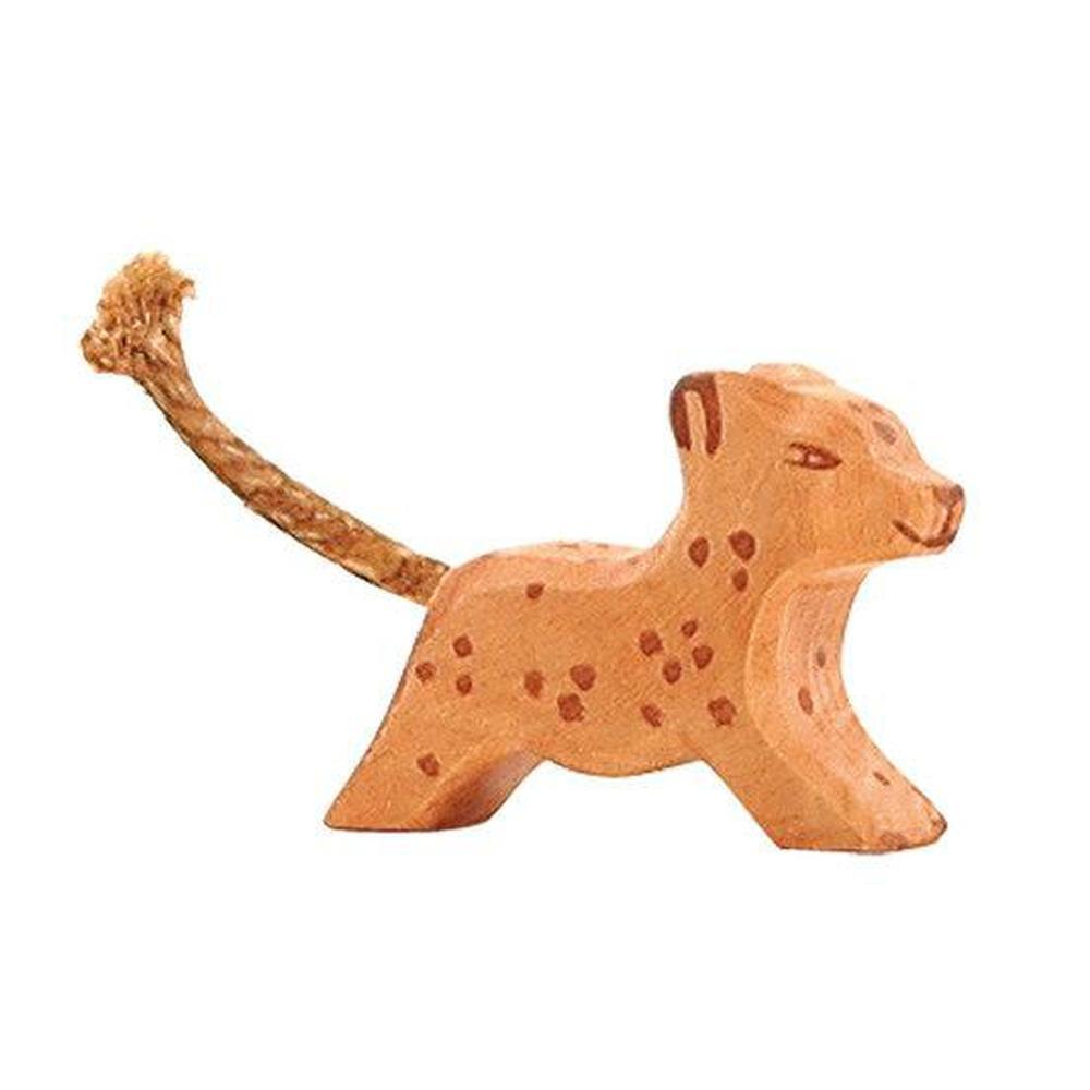 Ostheimer Leopard Small Running-Wooden animals-The Creative Toy Shop