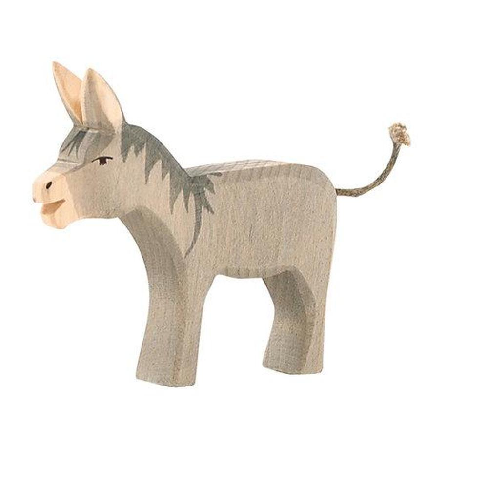 Ostheimer Musicians of Bremen - Donkey-Wooden animals-The Creative Toy Shop