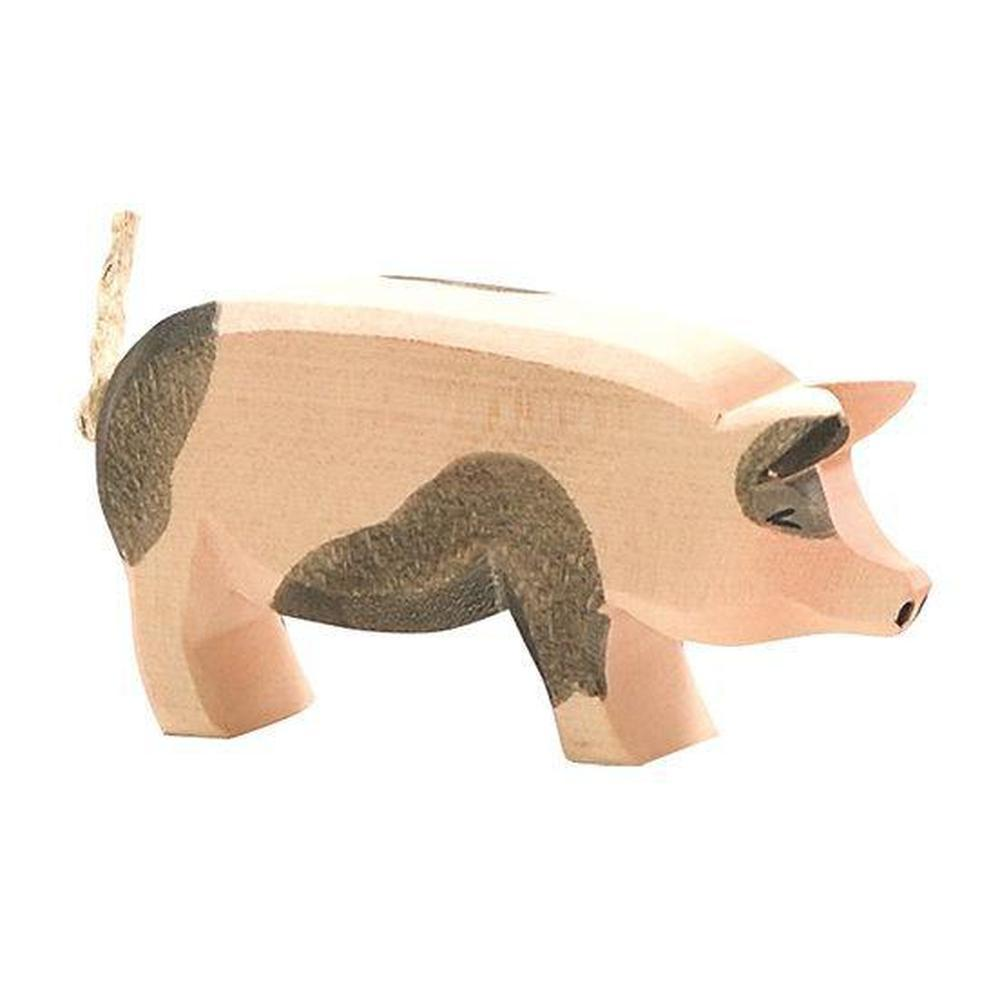 Ostheimer Pigs - Spotted Head High-Wooden animals-The Creative Toy Shop