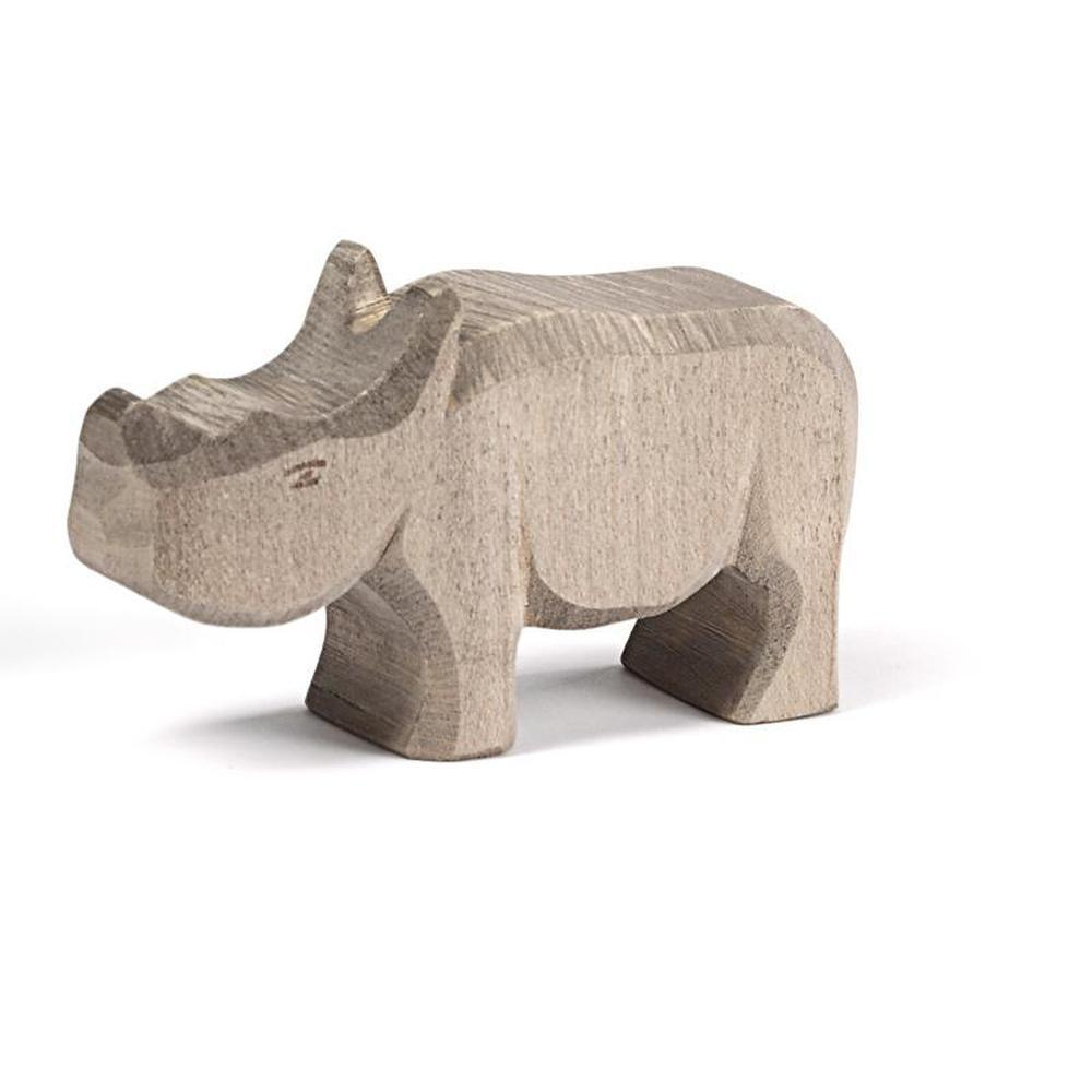 Ostheimer Rhino - Small-Wooden animals-The Creative Toy Shop