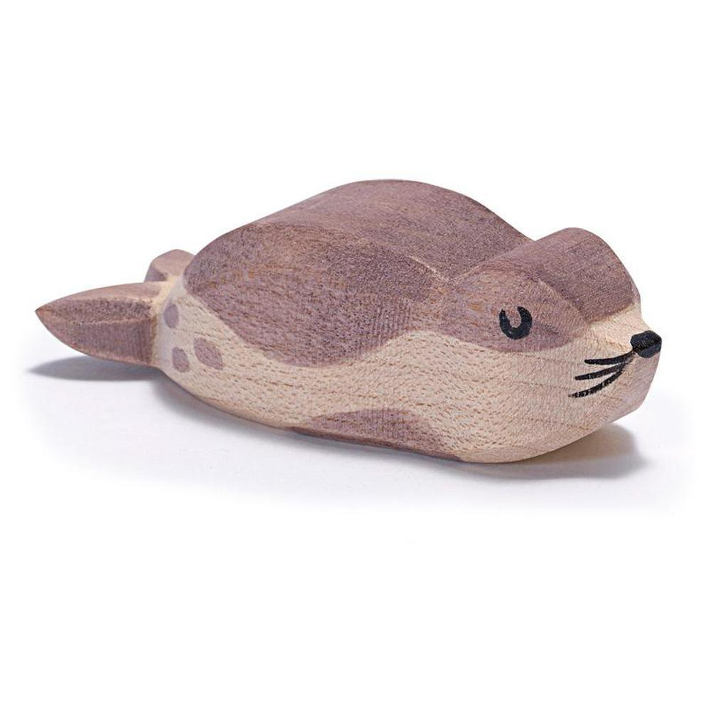 Ostheimer Sea Lion - Small-Wooden animals-The Creative Toy Shop