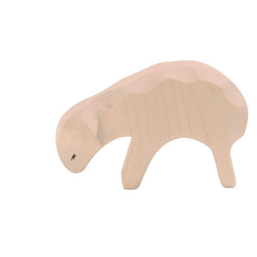 Ostheimer Sheep - Sheep Eating-Wooden animals-The Creative Toy Shop