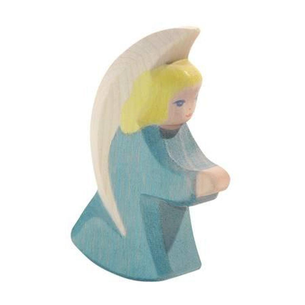 Ostheimer Small Angel - Blue-Wooden dolls-The Creative Toy Shop