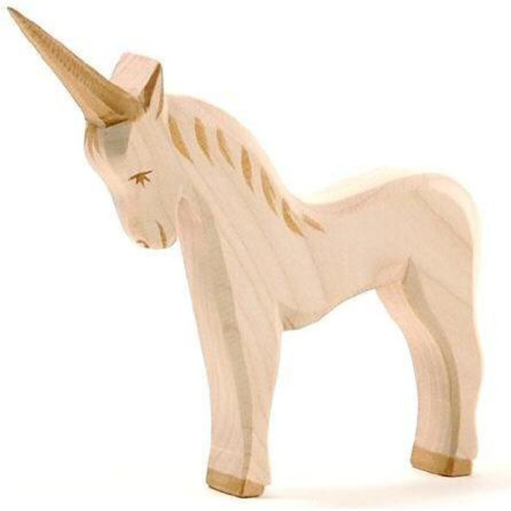 Ostheimer Unicorn-Wooden animals-The Creative Toy Shop