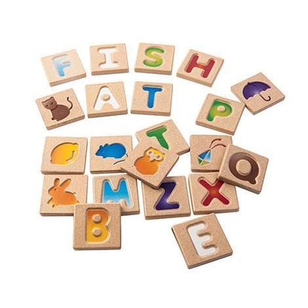 Plan Toys Alphabet A-Z-Reading-The Creative Toy Shop
