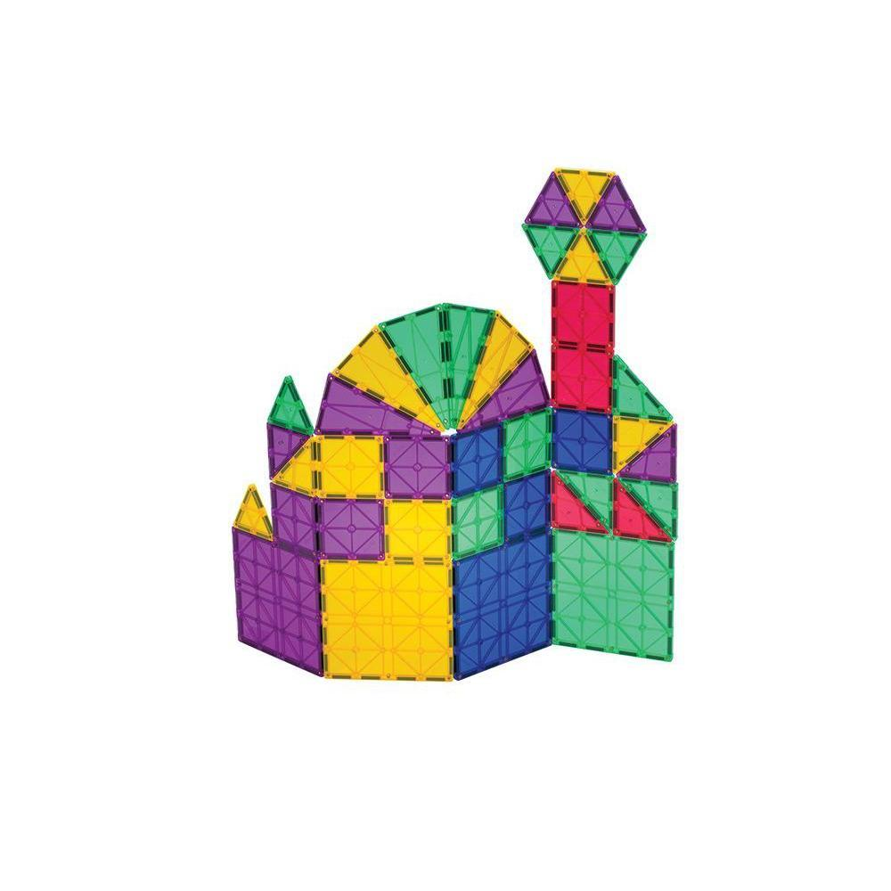 Playmags 150 Piece Magnetic Tiles Set-Magnetic Building-The Creative Toy Shop