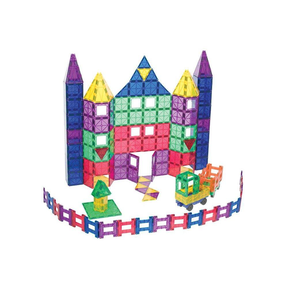 Playmags 150 Piece Magnetic Tiles Set-The Creative Toy Shop