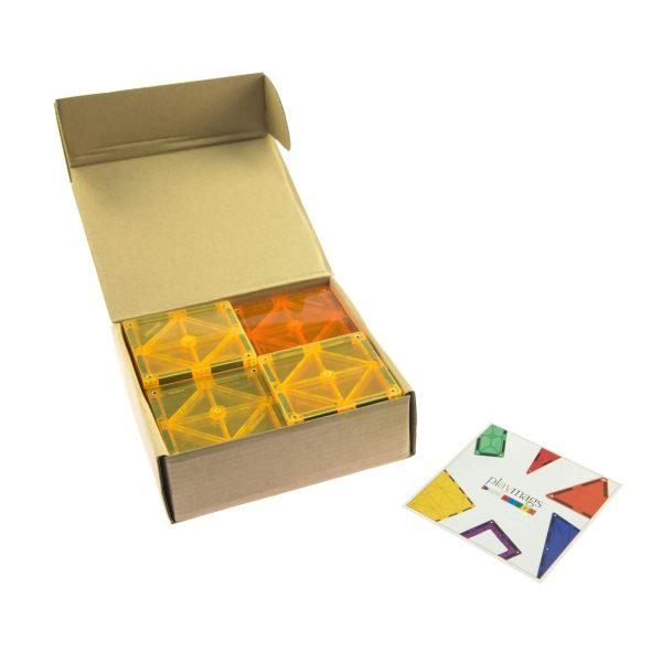 Playmags 20 Piece Magnetic Tiles Square Set-The Creative Toy Shop