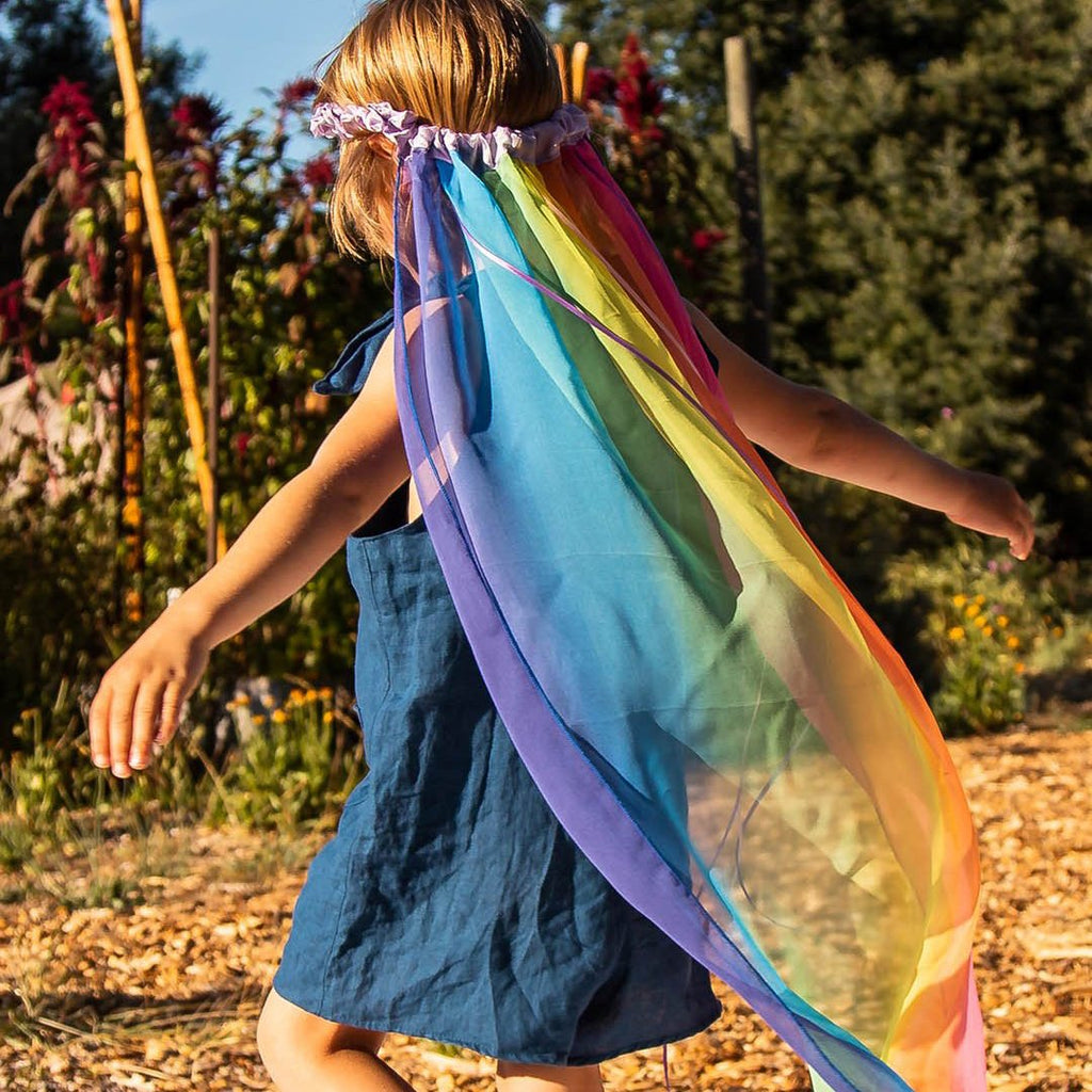 Sarah's Silks - Rainbow Veil - Sarah's Silks - The Creative Toy Shop