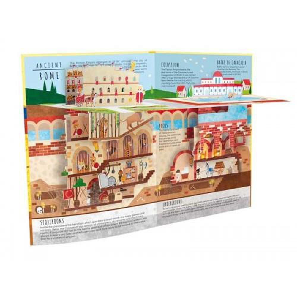 Sassi Above & Below Ancient Civilisations Book - Sassi Puzzles - The Creative Toy Shop