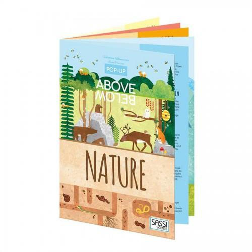 Sassi Above & Below Nature Book - Sassi Puzzles - The Creative Toy Shop