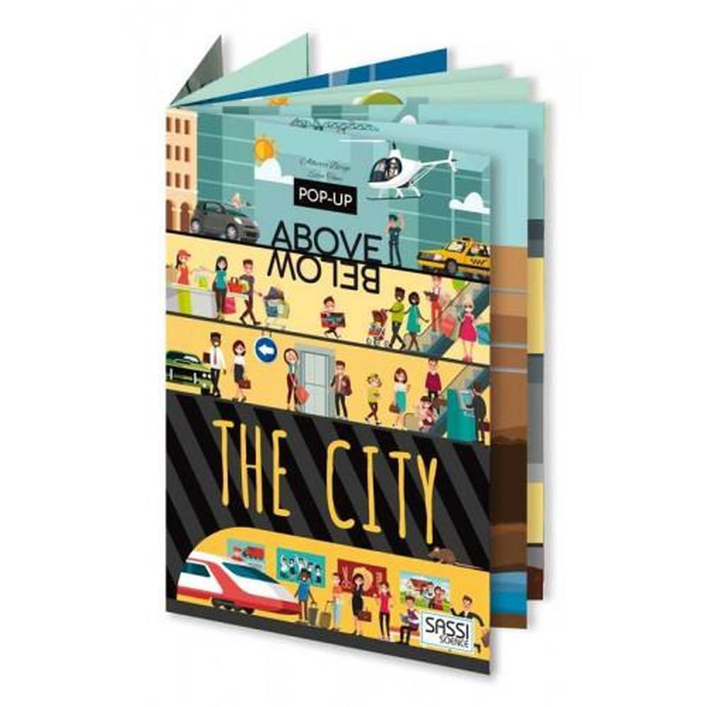 Sassi Above & Below The City Book - Sassi Puzzles - The Creative Toy Shop