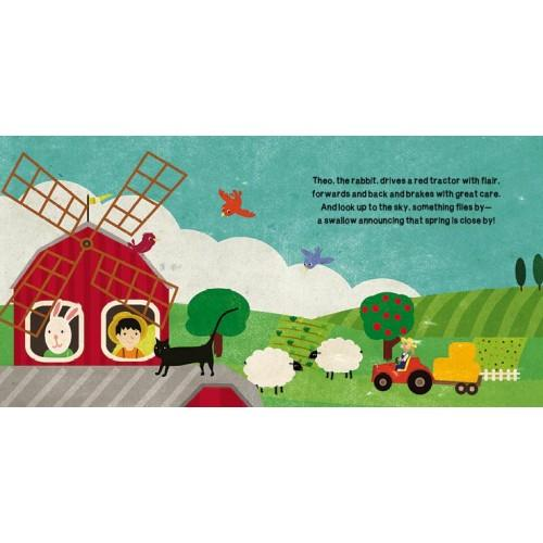Sassi Book & Giant Puzzle - The Farm-The Creative Toy Shop