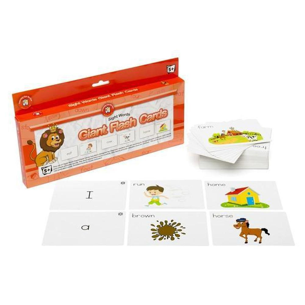 Sight Words Giant Flashcards - Learning Can Be Fun - The Creative Toy Shop