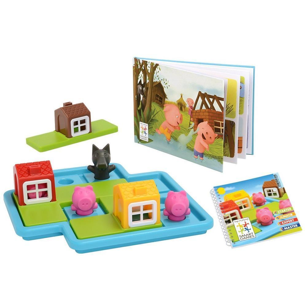Smart Games - Three Little Pigs - Smart Games - The Creative Toy Shop