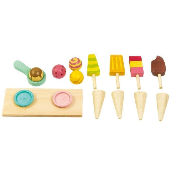 Tender Leaf Ice Cream Cart - Tender Leaf Toys - The Creative Toy Shop