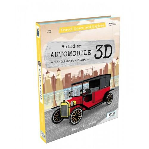 Travel, Learn and Explore - 3D Automobile - Sassi Puzzles - The Creative Toy Shop
