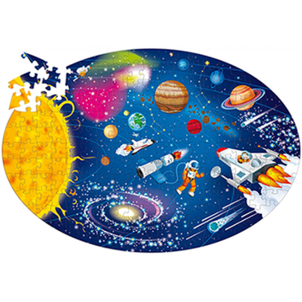 Travel, Learn and Explore Space Puzzle-Puzzles-The Creative Toy Shop