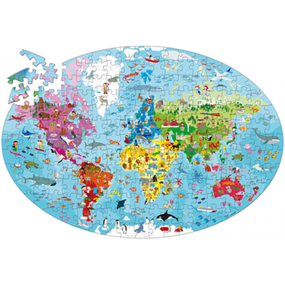 Travel, Learn and Explore - The Earth Puzzle-Puzzles-The Creative Toy Shop