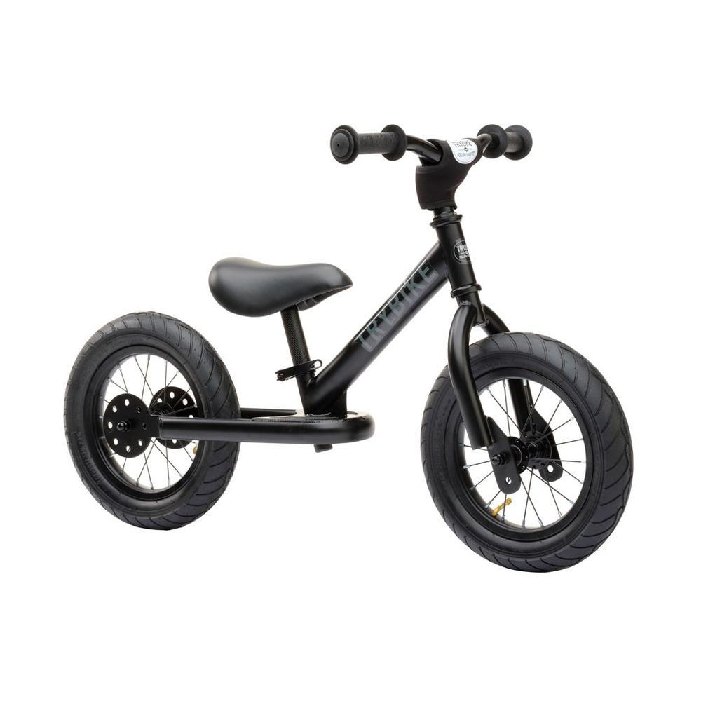 Trybike Steel Black Vintage Chrome Parts & Creme Tyres-Bikes-The Creative Toy Shop