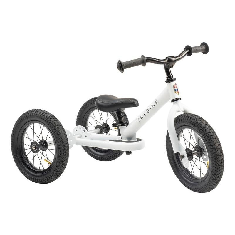 Trybike White, Black Seat and Grips - Tribike - The Creative Toy Shop