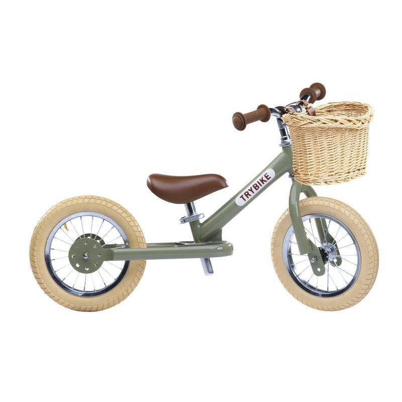 Trybike Wicker Basket for Balance Bike - Tribike - The Creative Toy Shop