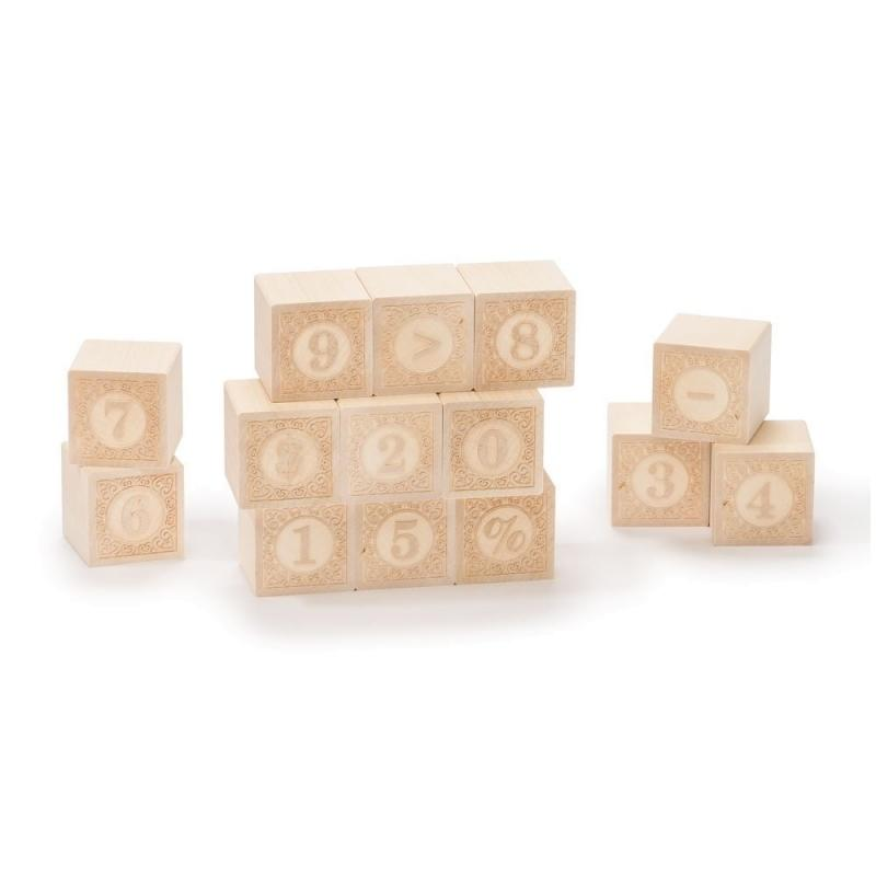 Uncle Goose Wooden Blocks - Alphablank Number - Uncle Goose - The Creative Toy Shop