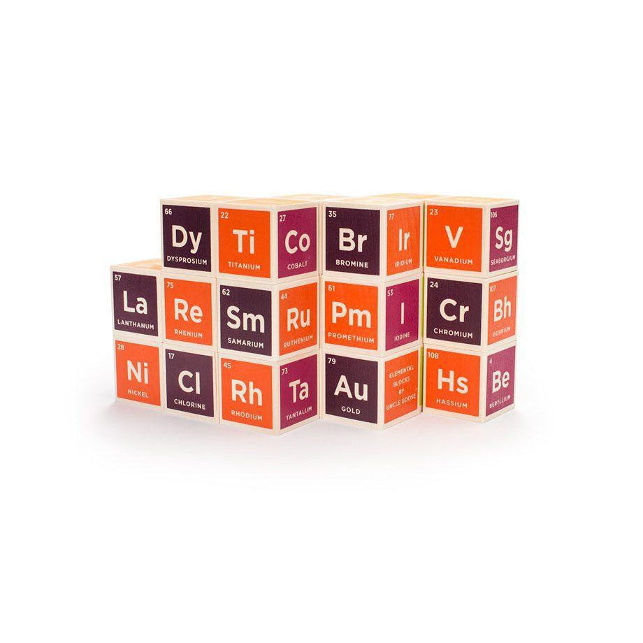 Uncle Goose Wooden Blocks -Periodic Table - Uncle Goose - The Creative Toy Shop
