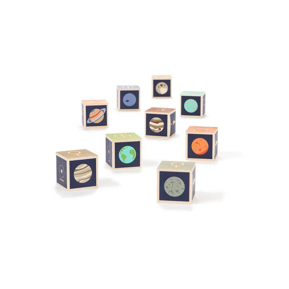 Uncle Goose Wooden Blocks - Planets - Uncle Goose - The Creative Toy Shop