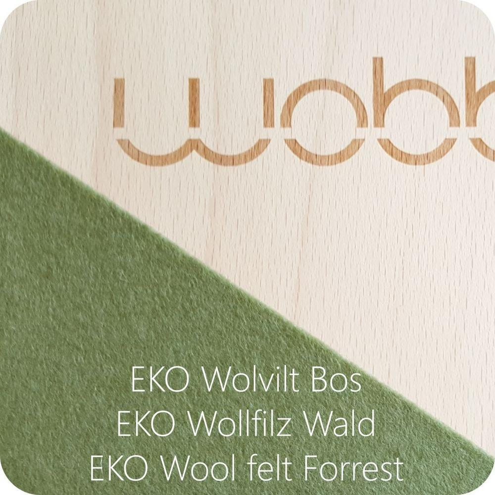Wobbel Original Felt - Forest-Wobbel Board-The Creative Toy Shop