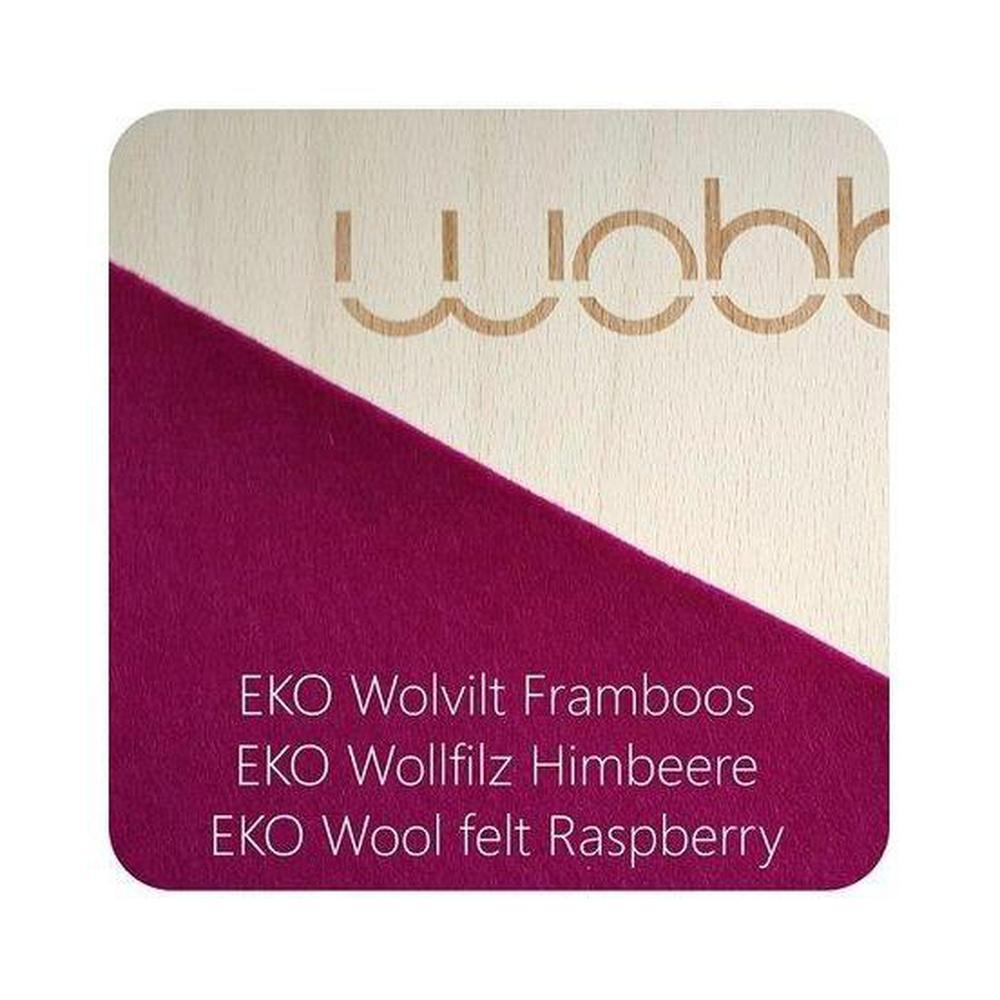 Wobbel Original Felt - Raspberry-Wobbel Board-The Creative Toy Shop