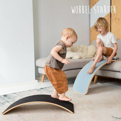 Wobbel Original Felt - Sky-The Creative Toy Shop