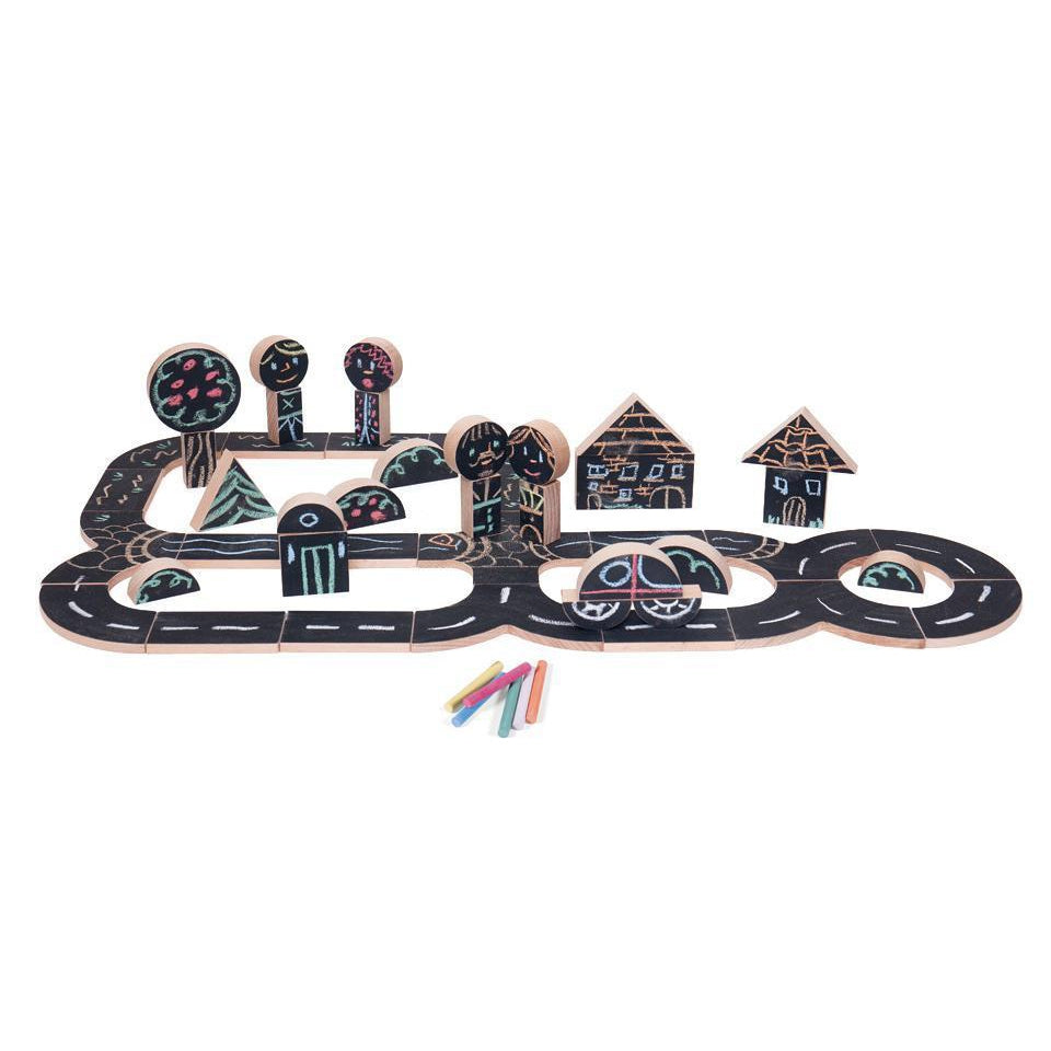 Wodibow Chalking My Way-Wooden sets-The Creative Toy Shop