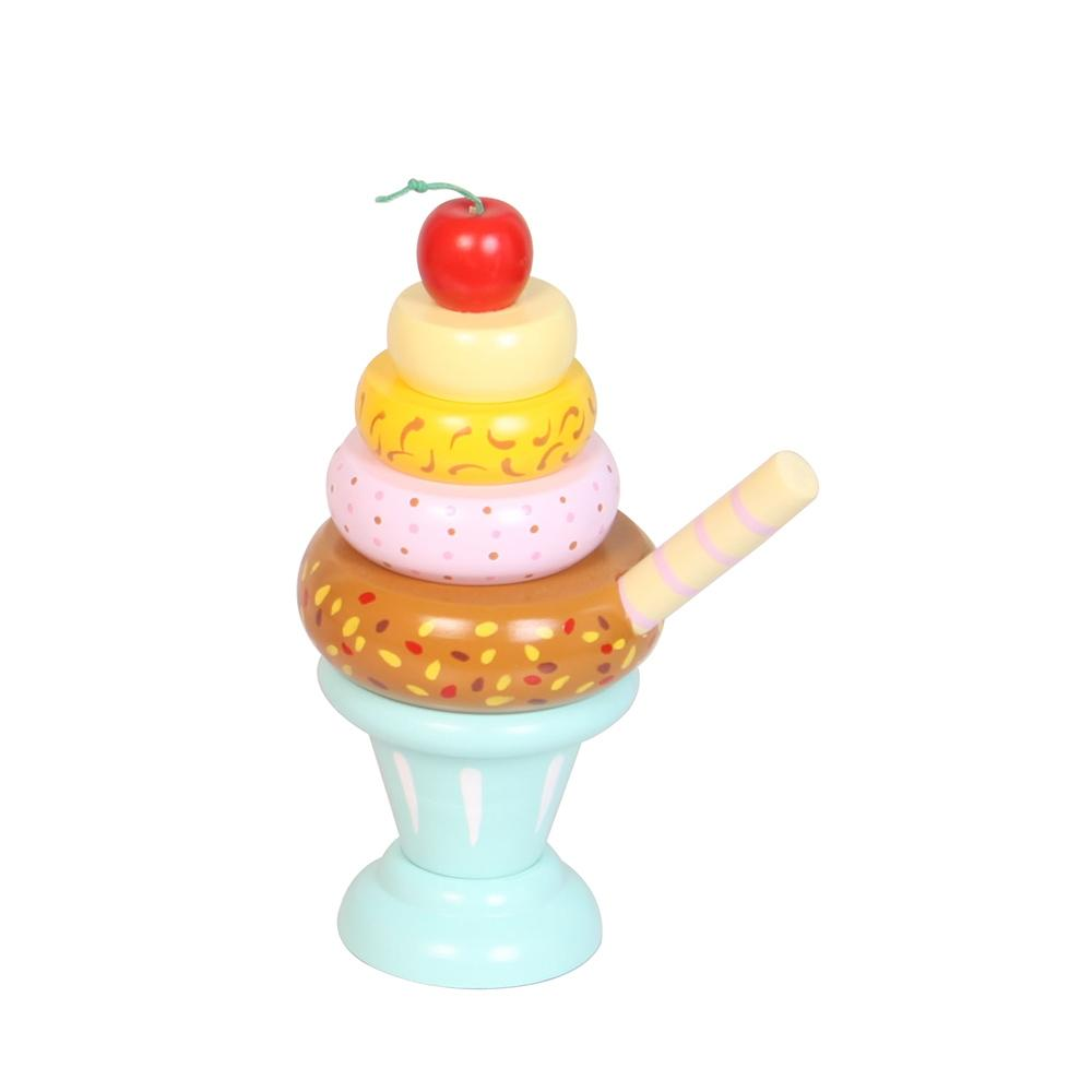 Wooden Ice Cream Stackers - Toyslink - The Creative Toy Shop