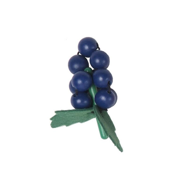 Wooden Individual Fruit and Vegetables - Grapes
