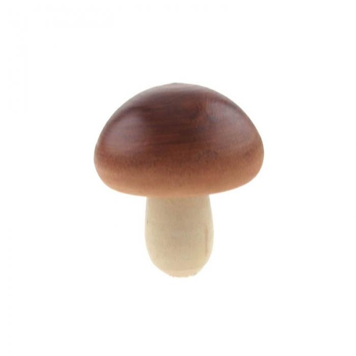 Wooden Individual Fruit and Vegetables - Mushroom
