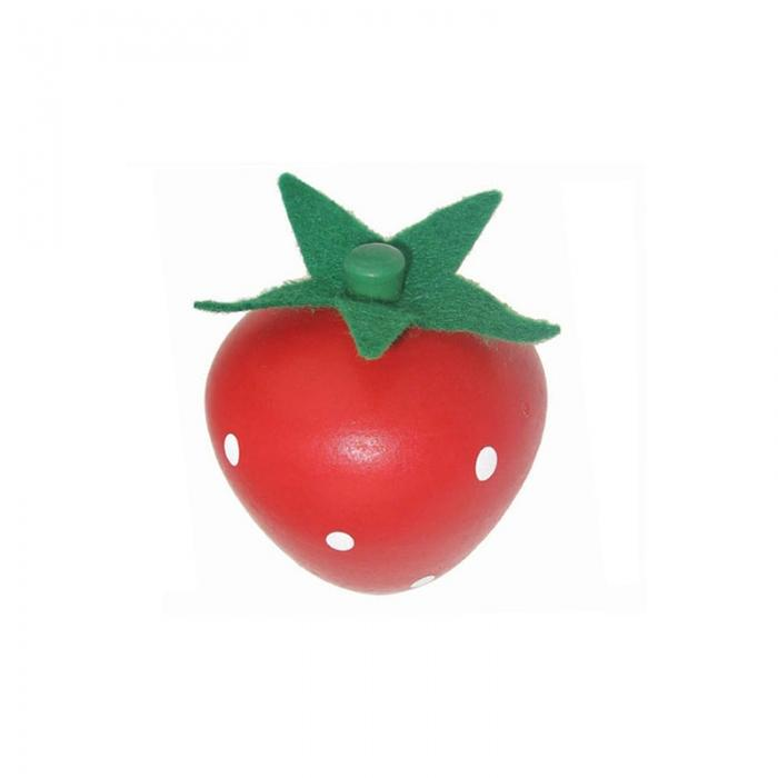 Wooden Individual Fruit and Vegetables - Strawberry - Toyslink - The Creative Toy Shop
