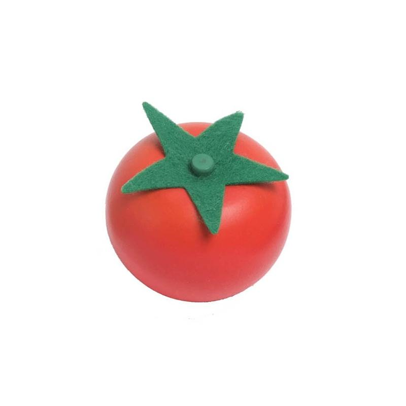 Wooden Individual Fruit and Vegetables - Tomato