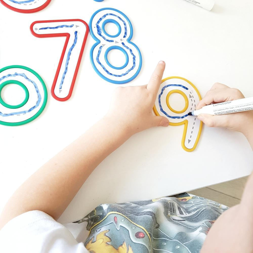 Write and Wipe Numbers 0-9-The Creative Toy Shop