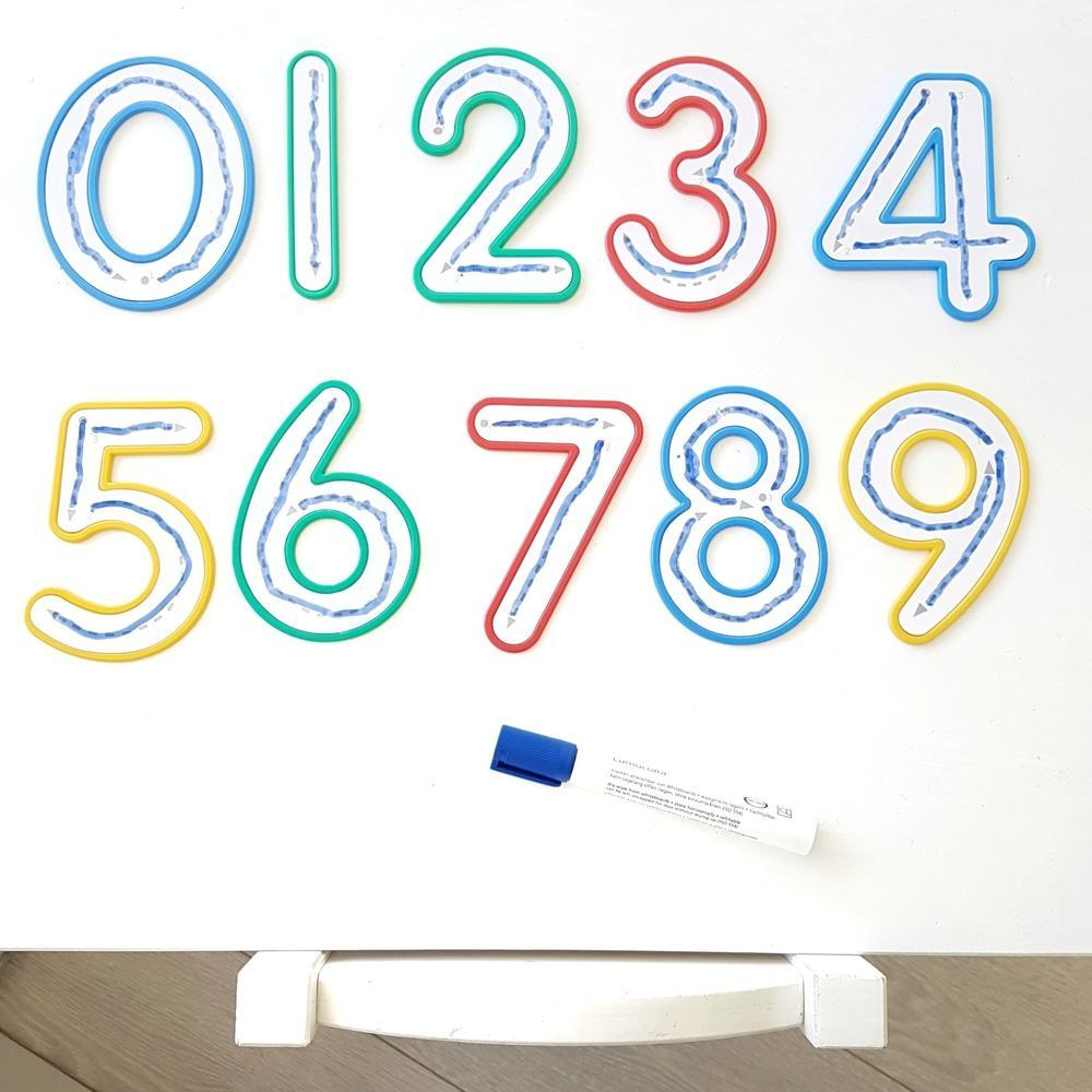 Write and Wipe Numbers 0-9-Write-The Creative Toy Shop
