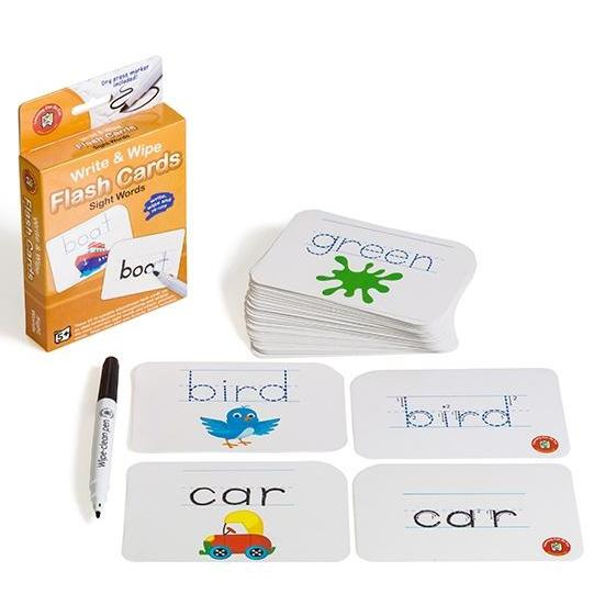 Write & Wipe Flashcards - Educational Colours - The Creative Toy Shop