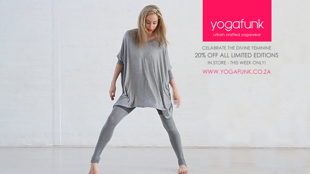 CELEBRATE THE DIVINE FEMININE WITH YOGAFUNK