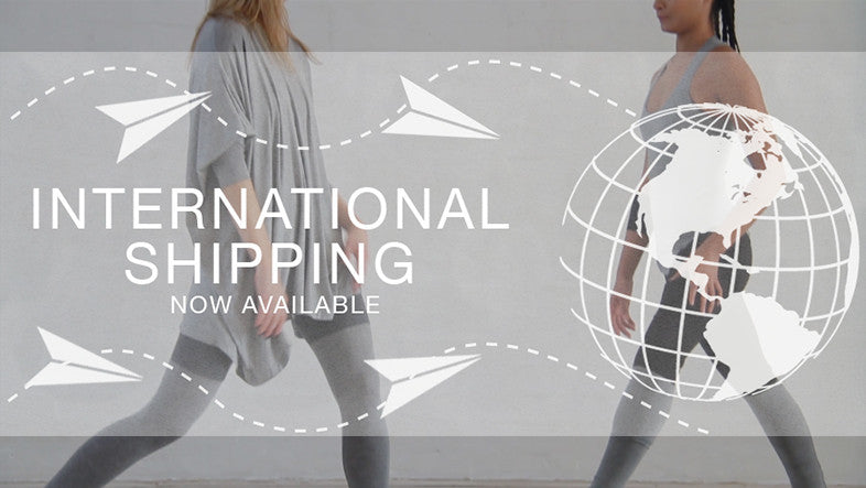 International Shipping Now Available!
